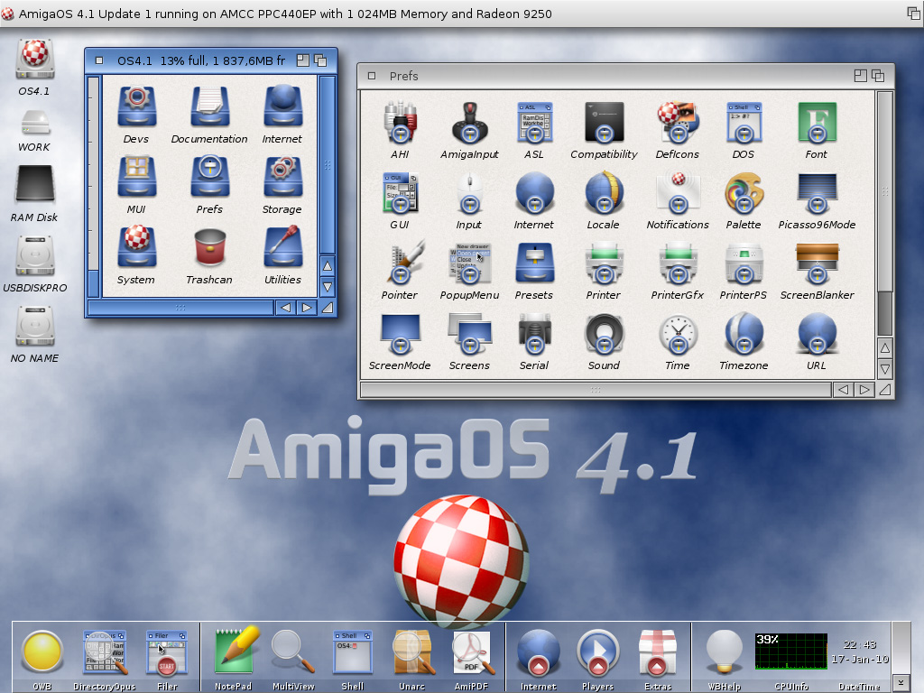 AmigaOS 4.1 Update_1 Workbench-AOS4.1u1